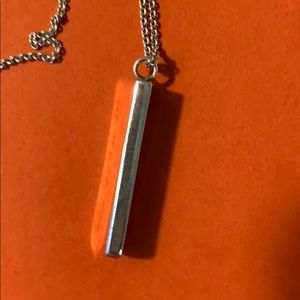 Tiffany & Co. Jewelry - Tiffany & Co. 1837 Vertical Bar Pendant Necklace